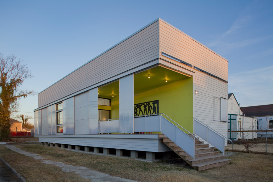 Urbanbuild of tulane school of architecture 2036 seventh for Modern new orleans homes